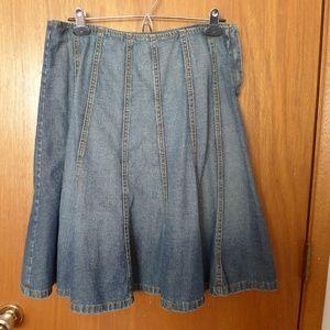 Michael Kors Denim Skirt